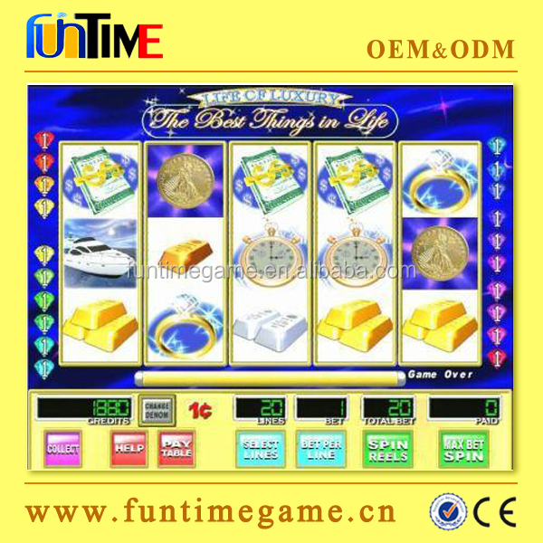 WMS 550 Life Of Luxury 15 lines single game board / board wms