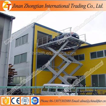 china low product hcujofktfghk series tower garage noise elevator system car parking