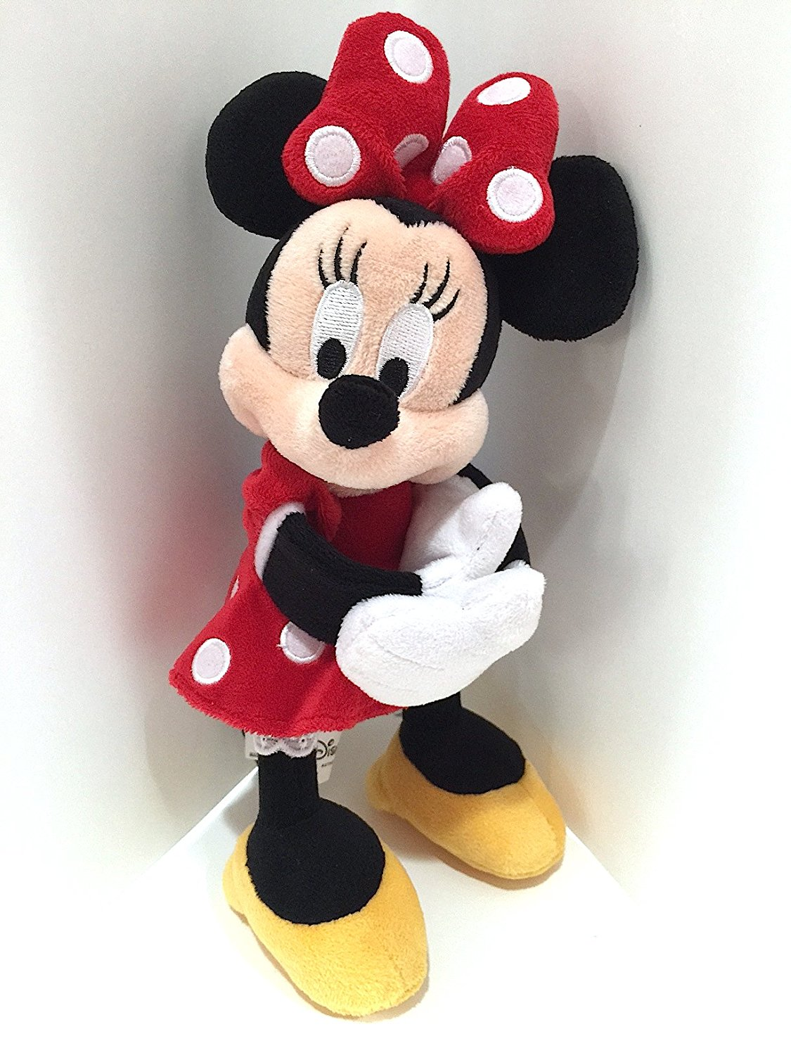 disney parks minnie mouse snuggle snapper plush slap bracelet new with tag