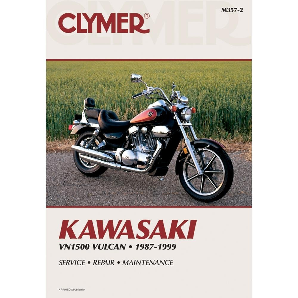 Get Quotations · Clymer Repair Manual for Kawasaki VN1500 Vulcan 87-99