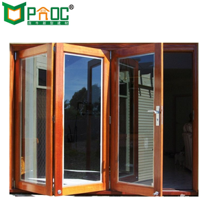 Powder coated aluminium folding patio doors prices