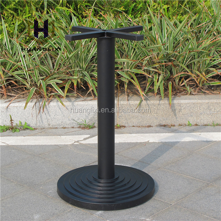 Hot sell round plastic table legs, Environmental protection composite table frame, coffee table feet