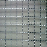 high quality stainless steel crimped wire mesh used in car