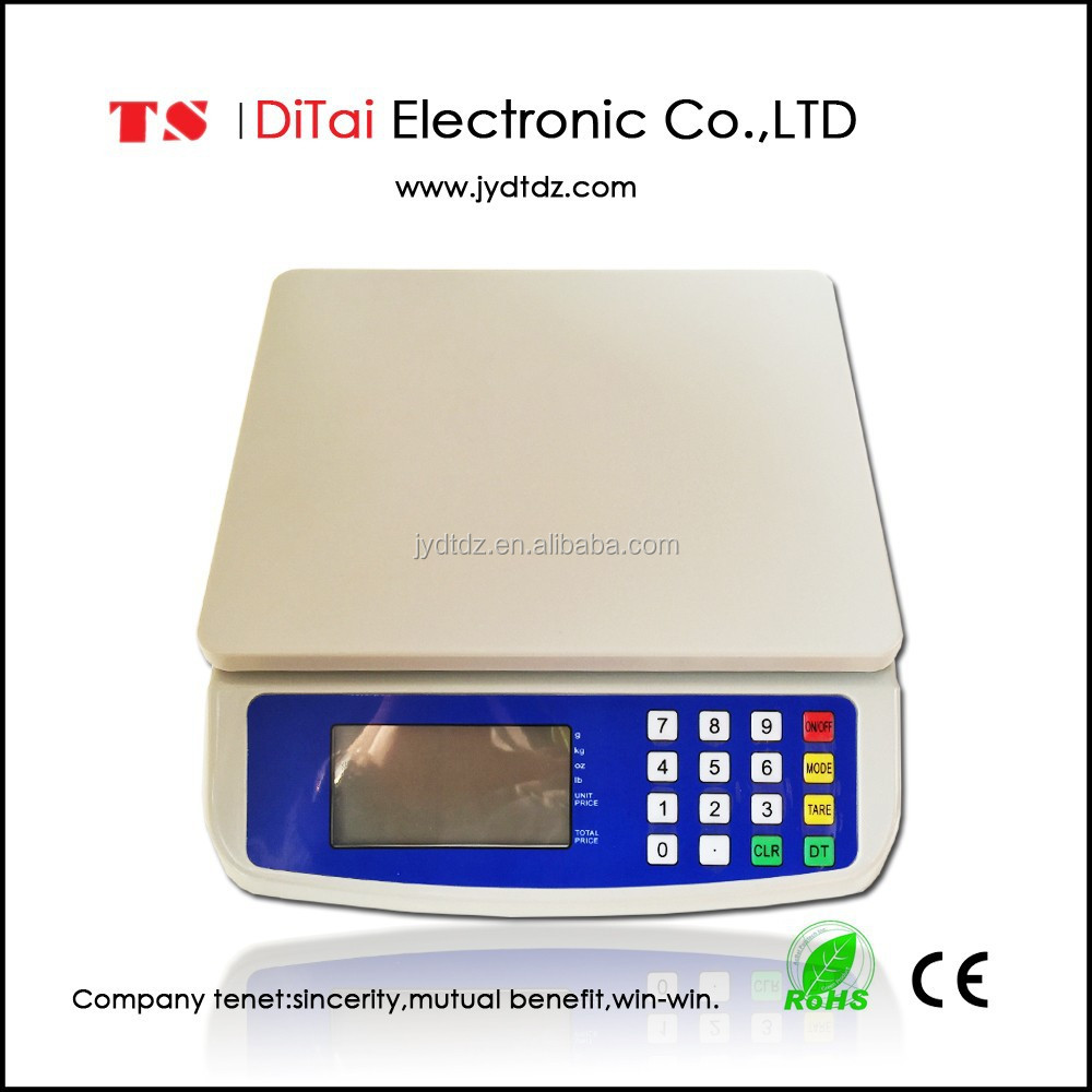 DT580 30kg/1g Promotional digital price scale price professional mill scale with price