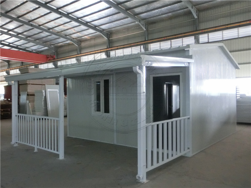 EPS modular prefab house 2 bedroom small homes in South Africa