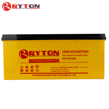 RYTON POWER 200ah 12v lead acid solar inverter battery for home solar system