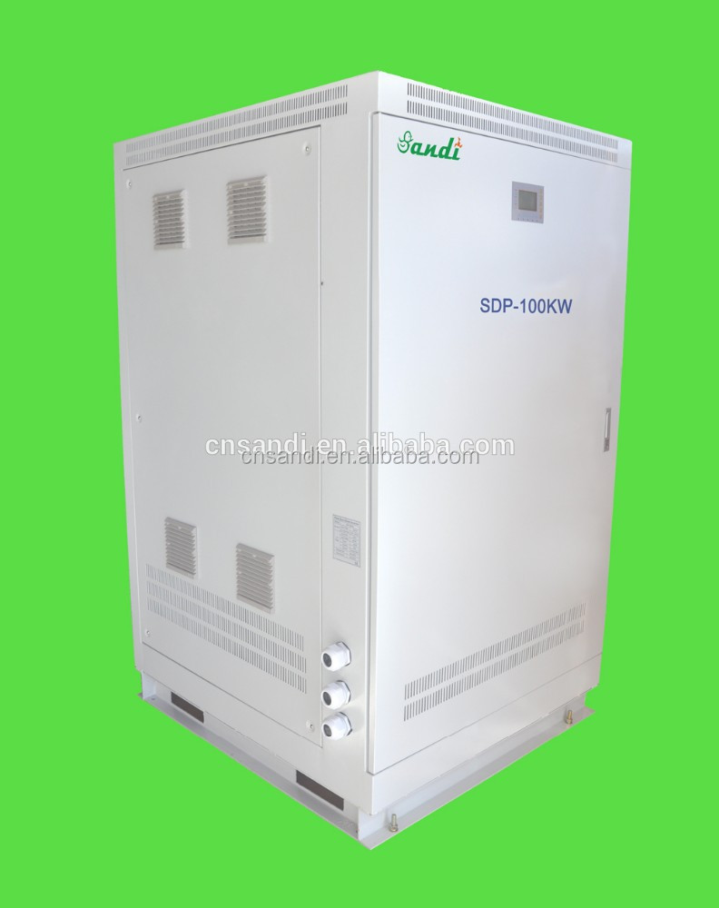 50KW/80KW/100KW/150KW/250KW Big power inverter for electric motor 220/380 v 3 ph