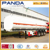 Panda widely used 60000l stainless steel water tanker semi trailer for sale