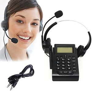 Call center IP features phone system,headset with Mic,hands free talk