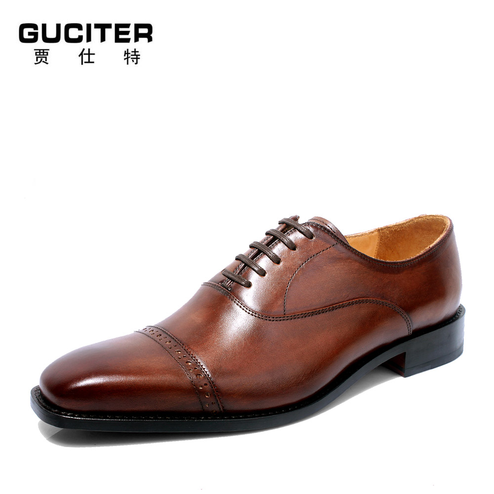 Goodyear handwork men's leather <strong>shoes</strong>, men's <strong>shoes</strong> and <strong>shoes</strong> size code business suit small head layer cowhide sewing