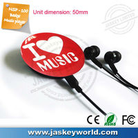 ODM Design Badge Music Support Tf Card Ape/ Flac/ Mp3/wma/fm Radio/ Recording Mp3 Player NSP-100