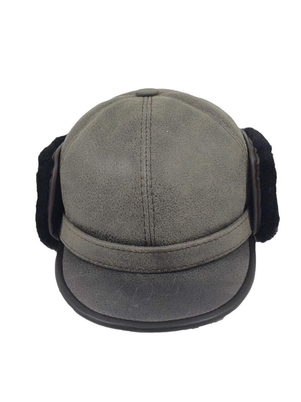fd6571098bc Get Quotations · Zavelio Women s Shearling Sheepskin Elmer Fudd Pilot Visor  Hat