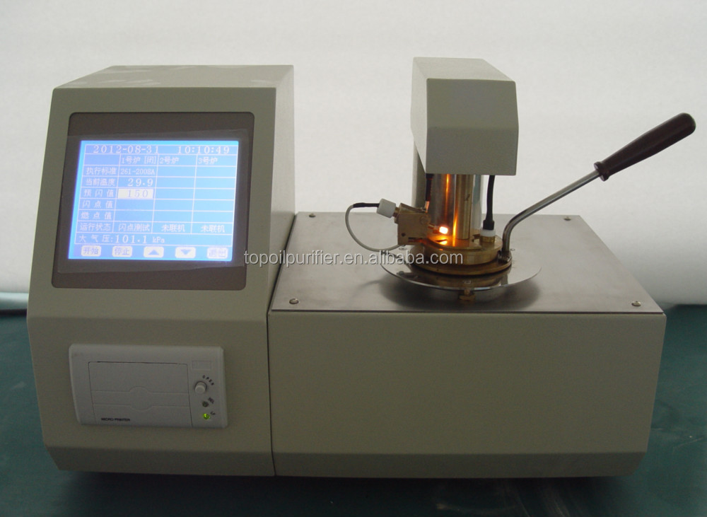 Closed Cup Flash Point Testing Equipment Oil Analysis For Petroleum /  Chemical / Power Station / Scientific Research Etc - Buy Flash Point  Testing