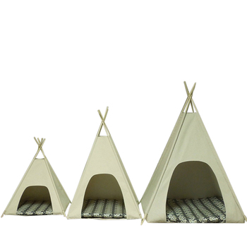 Small Or Large Cat Dog Teepee Tent Grey Pet Teepee  sc 1 st  Alibaba : dog teepee tent - afamca.org