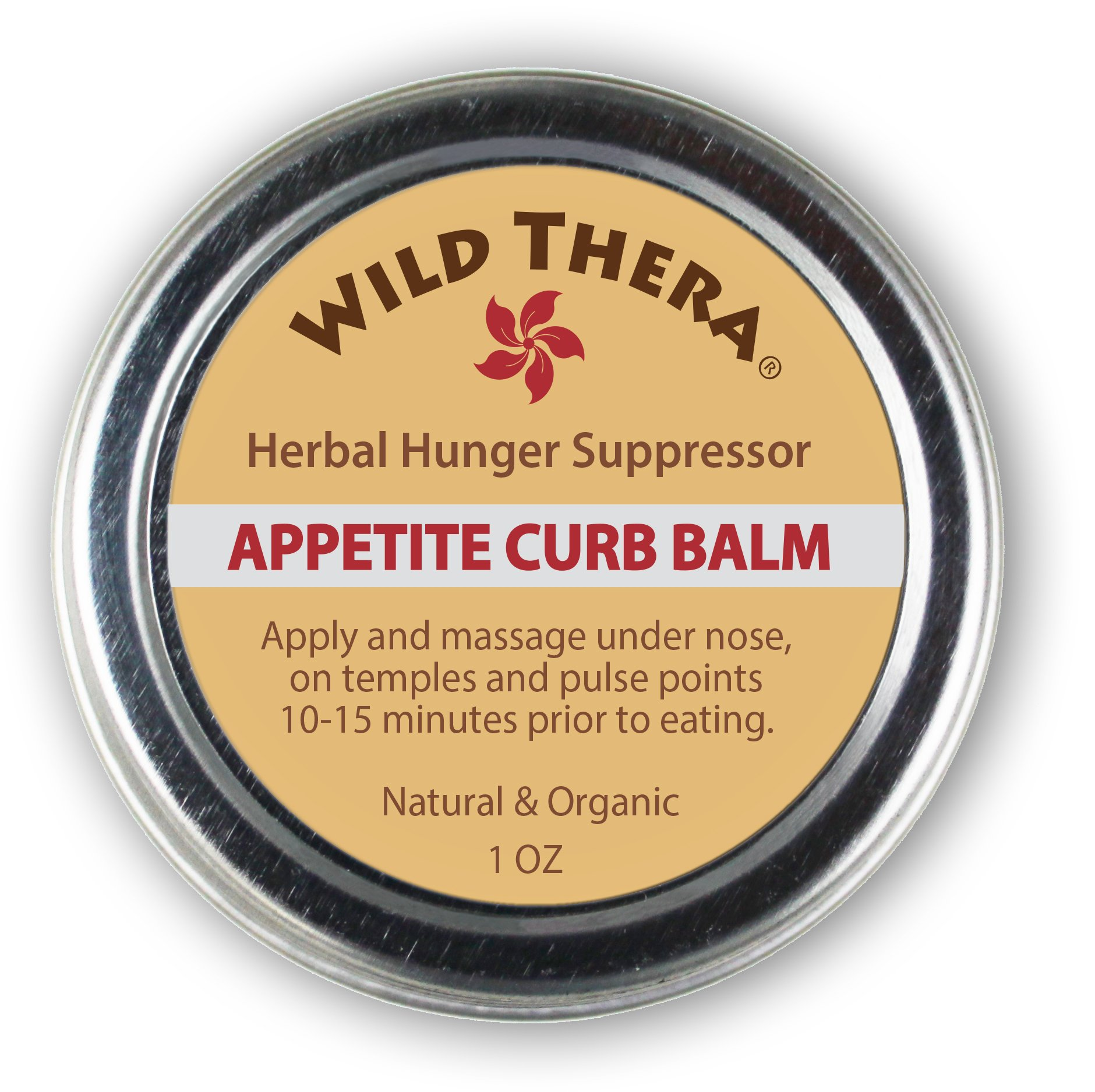 Herbal Appetite Suppressant Balm. Aromatherapy Hunger Suppressant Cream for diet control and weight loss. Safe with diet pills, fat burners, weight loss pills, detox cleanse.