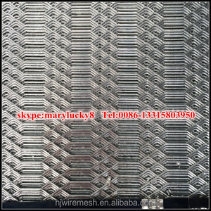 Gothic Expanded Metal sheet for fence/Galvanized expanded metal sheet