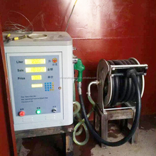 Portable diesel fuel dispenser install in vehicle car carry tanker dispenser