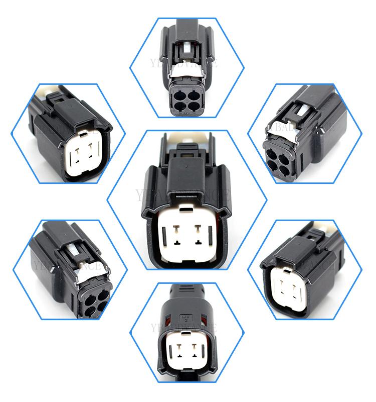 33472-0401 33472-4001 33472-4101 waterproof molex mx150 4 pin connector