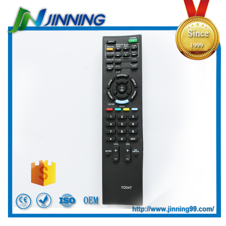 wireless universal led tv remote control ,YD047