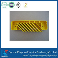 Customized Non-standard yellow Plastic injection Part