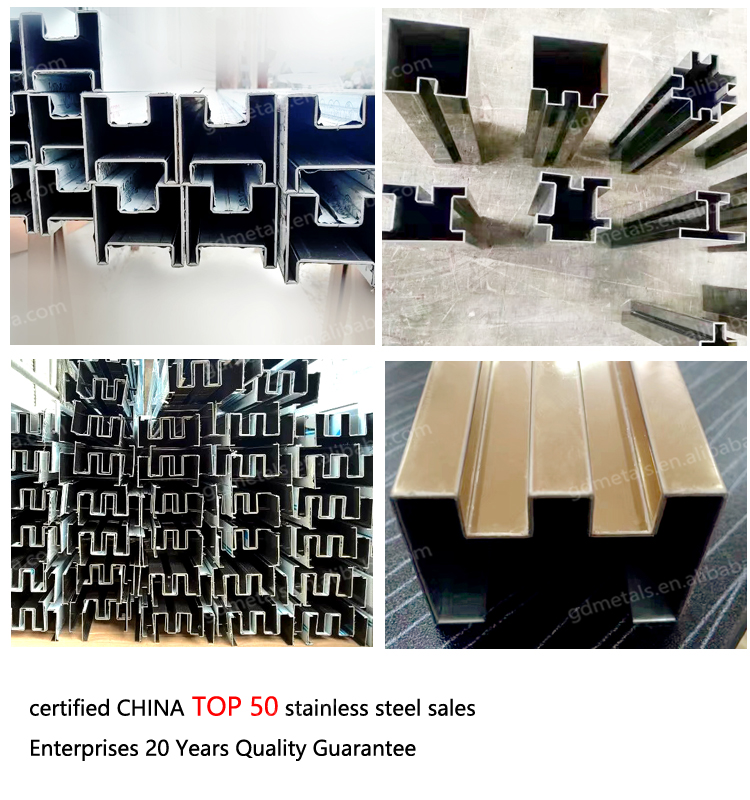 Customize all kinds of high-quality stainless steel decorative strip, hotel room stainless steel decoration bar, stainless steel