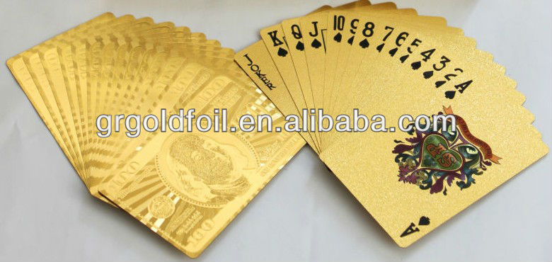 Gambling Playing Cards Custom Playing Cards Game Cards Printing With Professional Factory