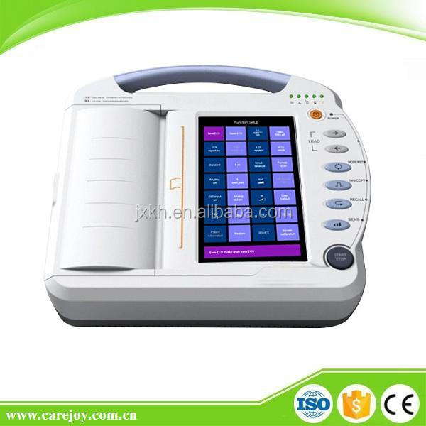 CE & FDA Approved Digital portable 12 channel ecg machine
