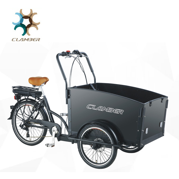 Hot sale three wheel electric cargo bicycle