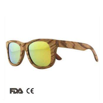 598ed688da New Fashion Bamboo Sunglasses From China Factory