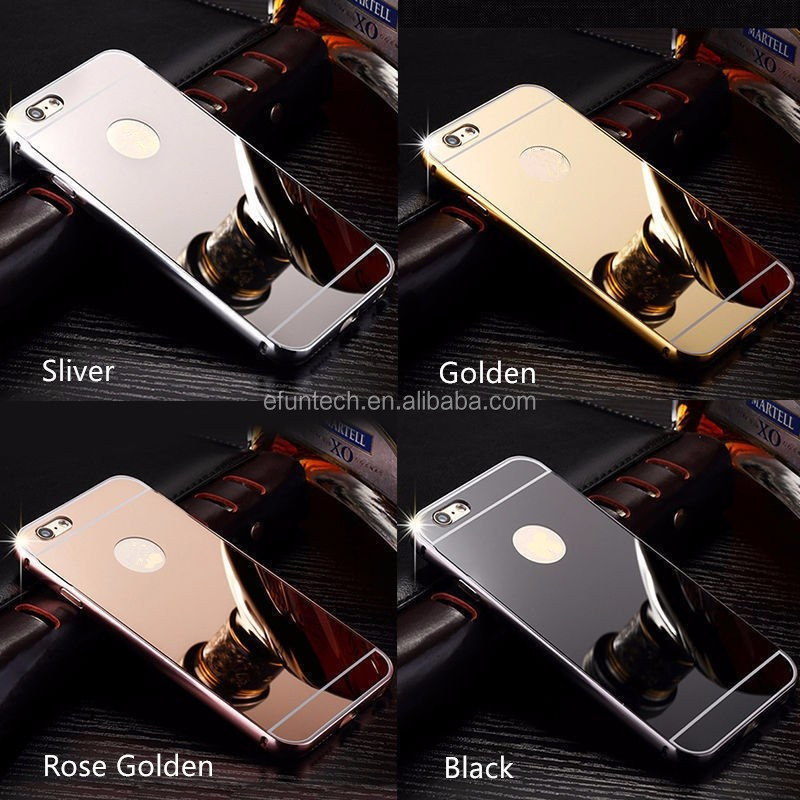 China factory OEM low price mirror phone case for oppo