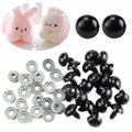 20pcs 6 20mm Black Plastic Safety Eyes For Teddy Bear Dolls Toy Animal Felting