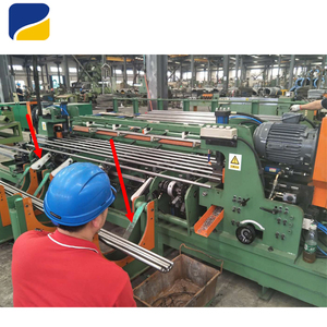 Automatic Stainless Steel Chamfering Machine Low Price Round Bar