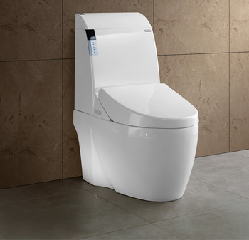 Gizo JJ-0807 high end ceramic intelligent toilet for elder