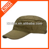 100% cotton fitted military army cadet cap