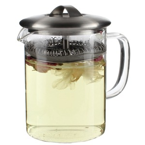 Borosilicate glass tea pot