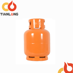 Used small camping LPG gas bottle/gas tank