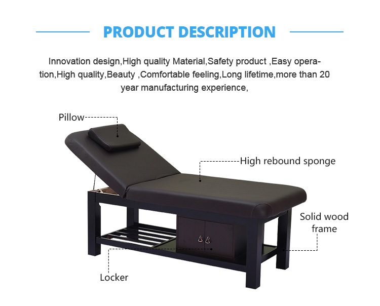 Cheap Modern Wholesale Beauty Table Facial Chair Massage Bed
