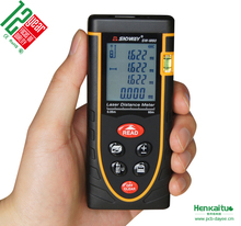Digital Distance Measuring Instrument Area Volume Laser Meter 60m