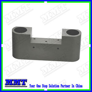 high quality cnc aluminum processing carrier with type 3 black hardcoat anodizing