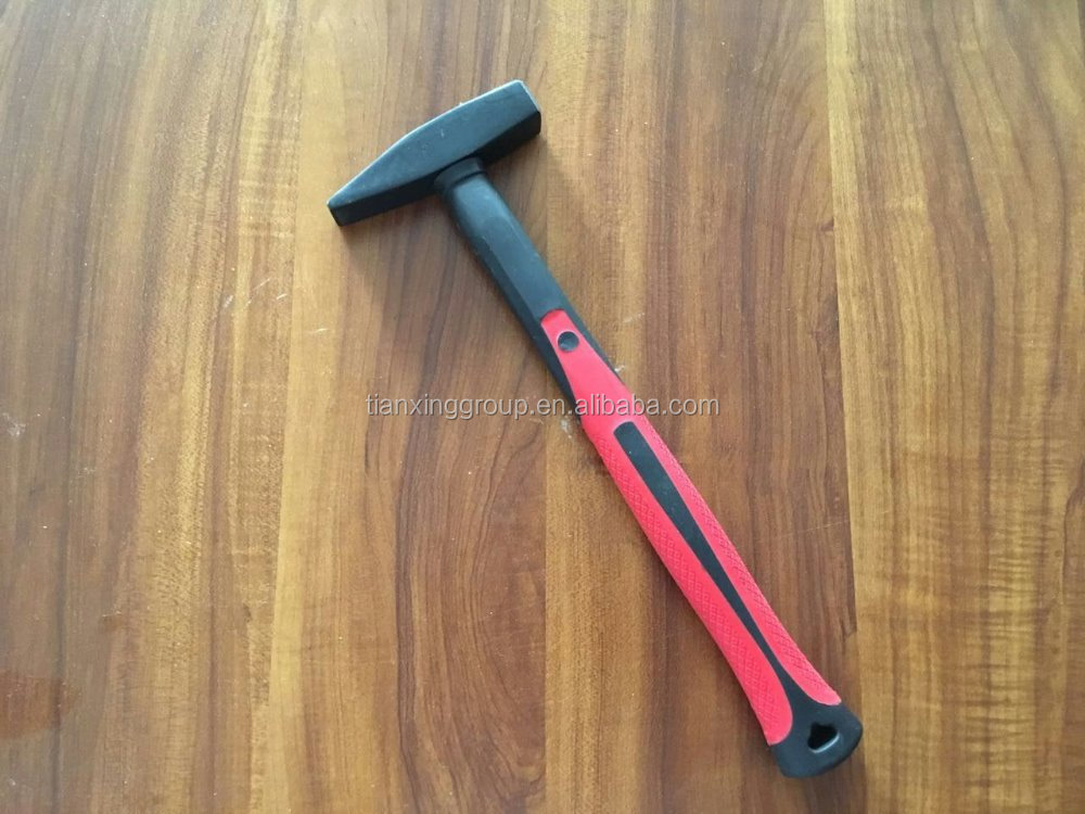 Professional machinist`s hammer with wood handle or plastic handle /handle tools