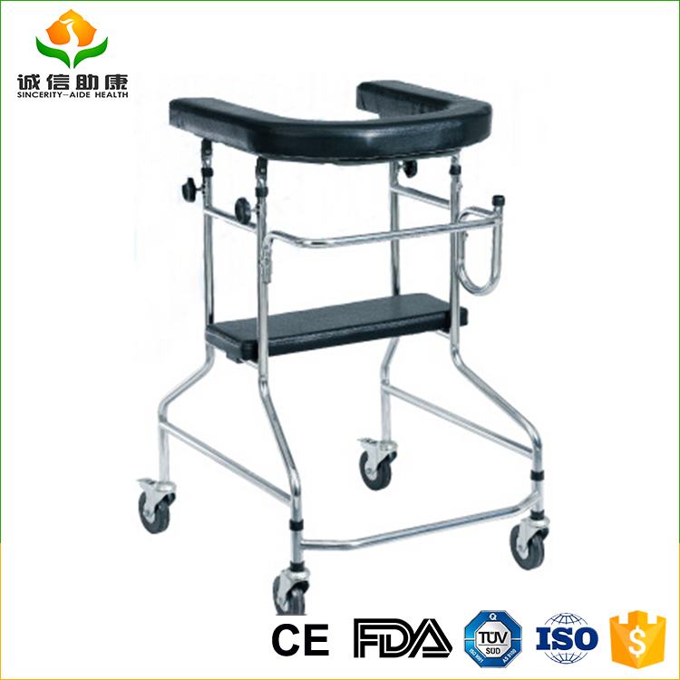 Top selling disability aids moving steel bariatric walker for child