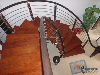 2015 Latest Exterior Stair Design With Wood Stair Treads