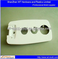 Plastic speaker faceplate injection mold