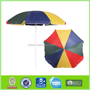 Top quality Sun and rain Sunshade Garden solar charger umbrella
