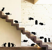 Removable animals decorative room wall stickers