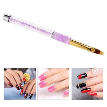 1pc Nail Art Uv Gel Painting Pen Brush Nail Art Gradient Color Brush