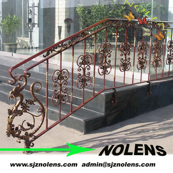 Forged Steel Dragon Used In The Wrought Iron Fence Beginning Buy