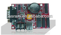 HD-A3 single & dual color led display control card with hub transfer board,support both synchronous and asynchronous