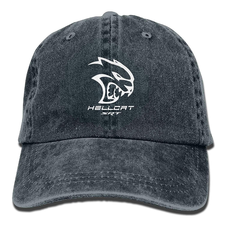 8b5273c404c75 Get Quotations · Dodge Hellcat SRT Unisex Baseball Cap Trucker Hat Adult  Cowboy Hat Hip Hop Snapback