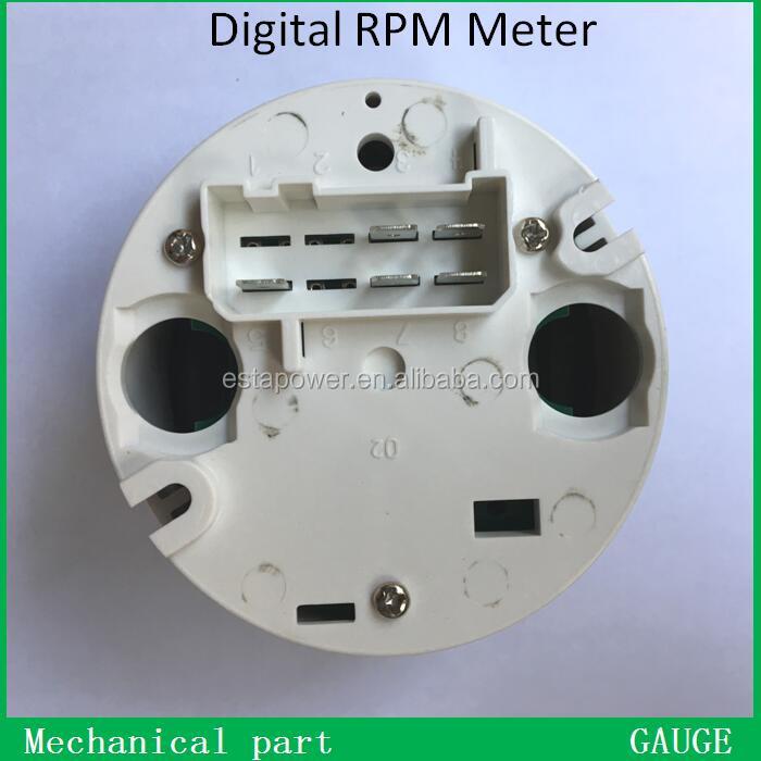 VDO électronique Tachymètre 80 mm compteur de vitesse 3000 tr//min 12 V